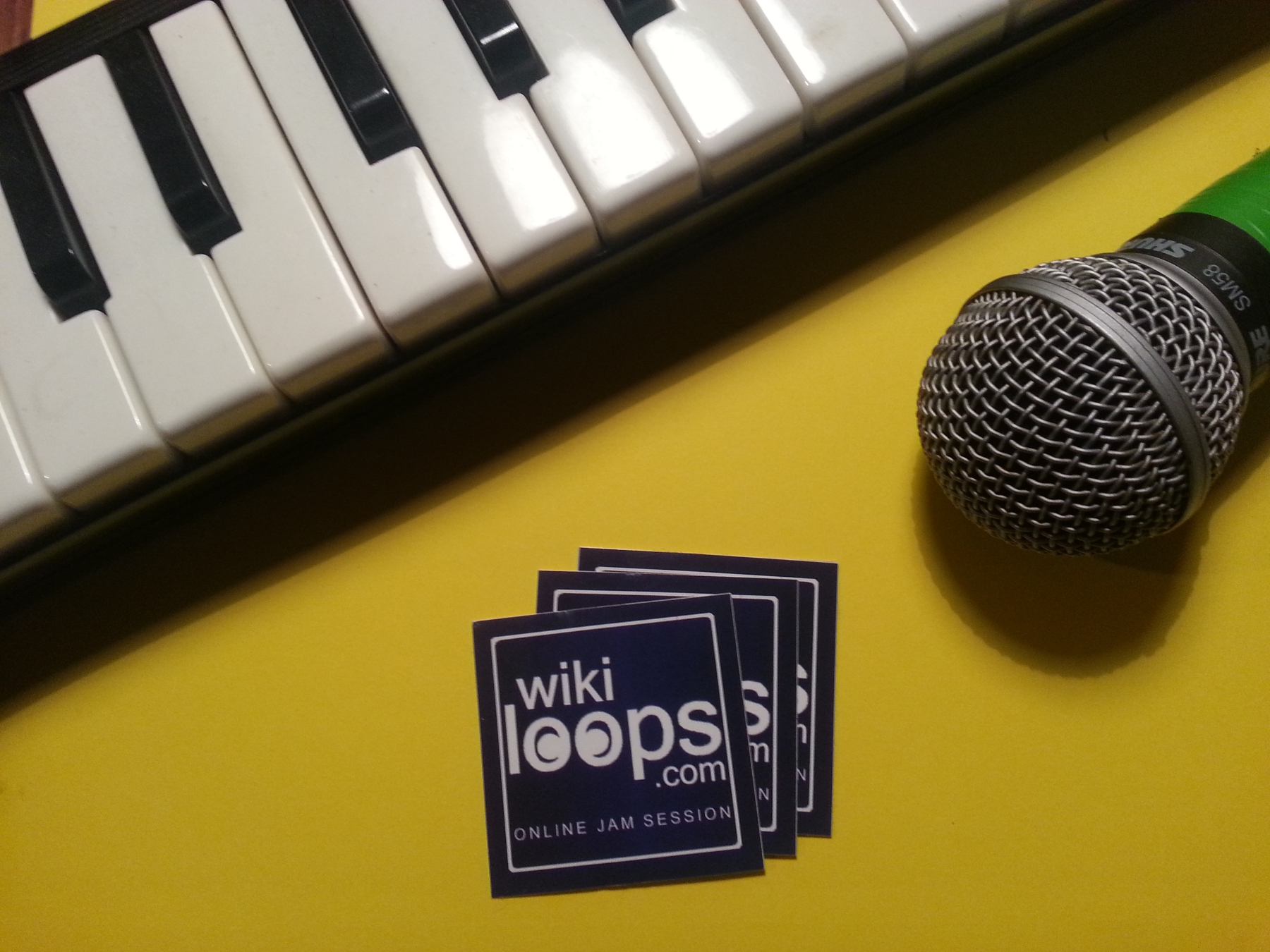 get a wikiloops promo package of stickers