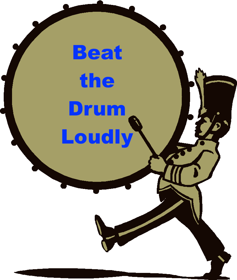 Beat The Drum Loudly By Rp3drums